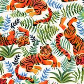 lazy tigers