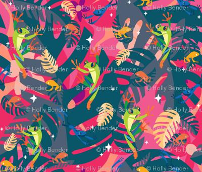 Twilight Frogs