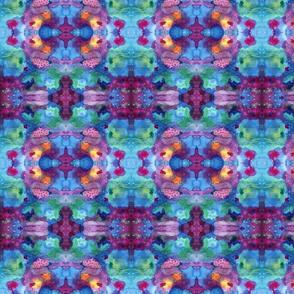 watercolor galaxy kaleidoscope - 3