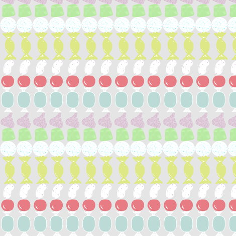 Spring Candy Stripes fabric by mulo_marrone on Spoonflower - custom fabric