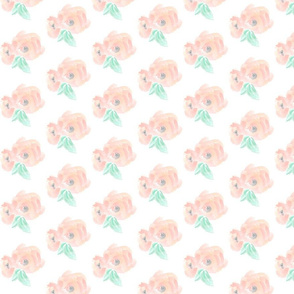 Peach blush blossoms / mini
