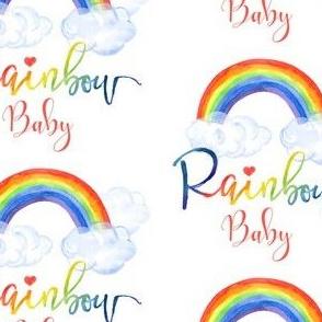 "4"" Rainbow Baby -Pink"