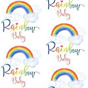 "3"" Rainbow Baby -Pink"