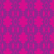 Carmine Retro Vine Hot Pink Purple