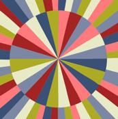 Geometric carousel