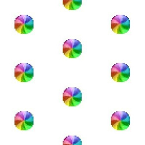 Spinning Wheel of Death - white BG