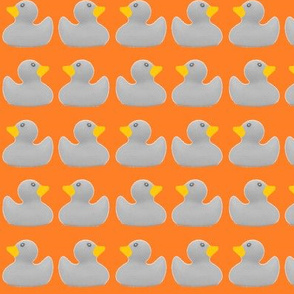 Ducks in a Row: Tangerine