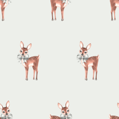 Cute fawns