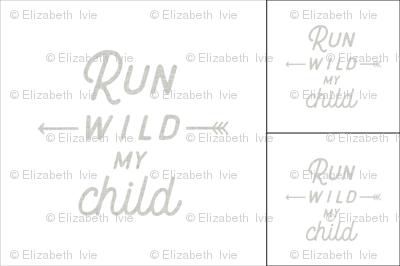 1 blanket + 2 loveys: run wild my child