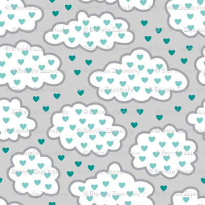 Heart Clouds Cool (Spice)