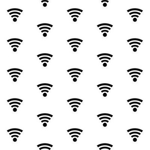 WiFi - Black on White