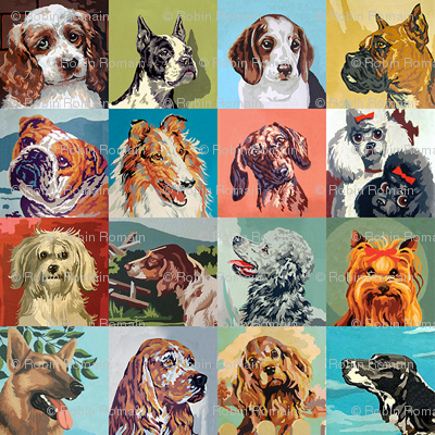 Paint By Numbers Dogs mini