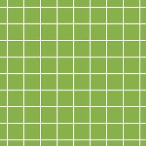 Sewing Swatches Grid - Green