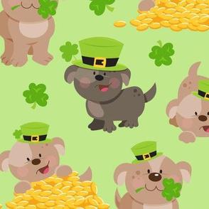Lucky Dog Light Green
