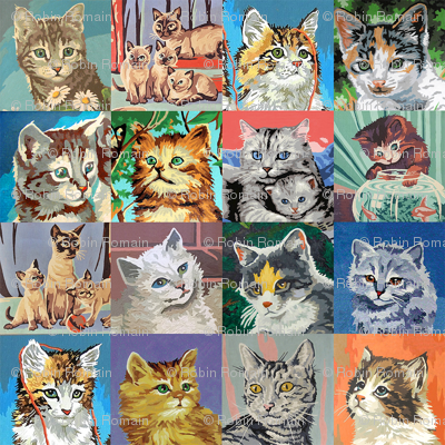 Paint By Number Cats - small