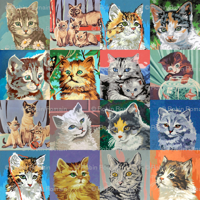Paint By Number Cats - medium