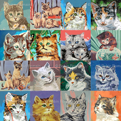 Paint By Number Cats - large