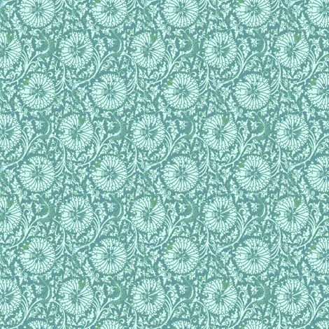 China Aster fabric by amyvail on Spoonflower - custom fabric