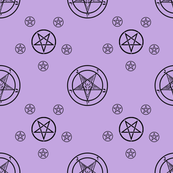 Satanic Baphomet [Lilac]