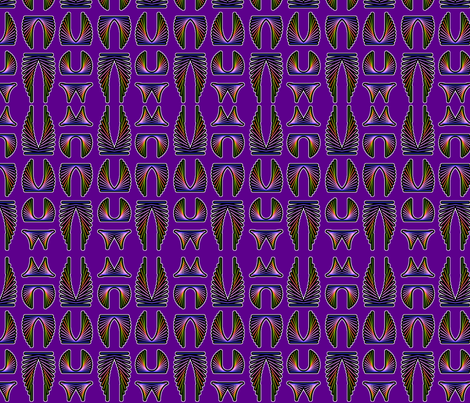 geodesic wings and progressions fabric by hannafate on Spoonflower - custom fabric