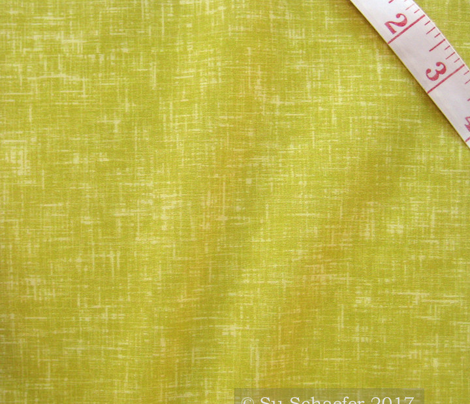 Essential yellow-green linen weave by Su_G_©SuSchaefer