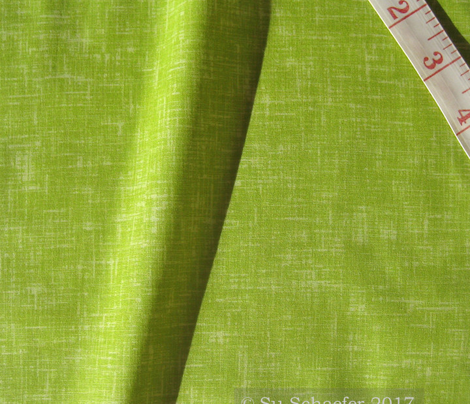 Essential green linen weave by Su_G_©SuSchaefer