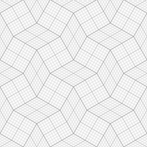 06150468 : graph S42X : grey fabric by sef on Spoonflower - custom fabric