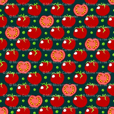 Pea'n'tomato - piselli e pomodoro - dark