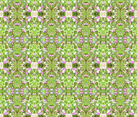 fusionwildflowers fabric by serendipityday on Spoonflower - custom fabric