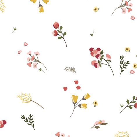 Spring Abundance, Large fabric by laurapol on Spoonflower - custom fabric