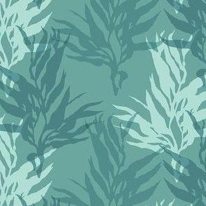 Green/Blue Kelp Motif