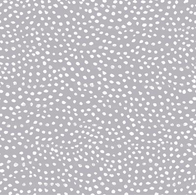 scalloping dots // pantone 173-1