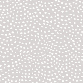scalloping dots // pantone 169-2