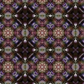 Plum mosaic
