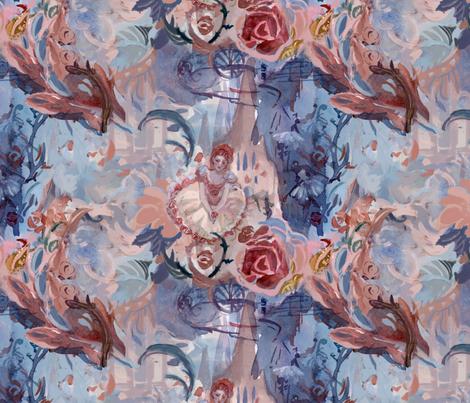ballerina_swatch_x4_spoonflower fabric by monicaliaw on Spoonflower - custom fabric