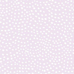 scalloping dots // pantone 83-1