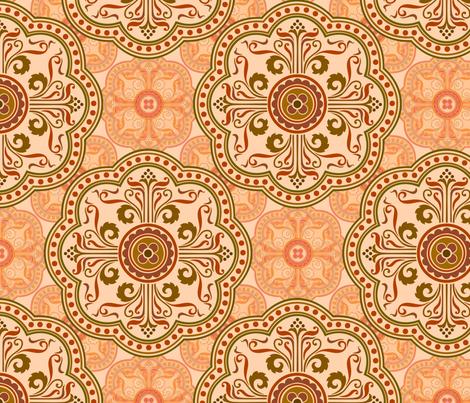mandala17 fabric by hannafate on Spoonflower - custom fabric