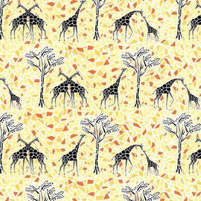 giraffe mosaic