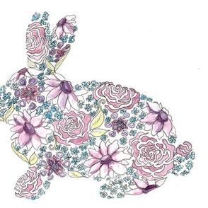 Floral Bunnies