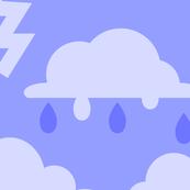 Rainy Day - Purple