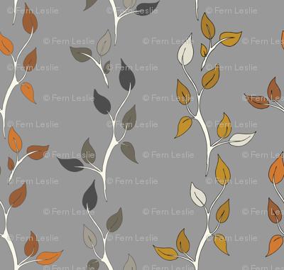 Twig Vines - Clay/Caramel/Rust/K40