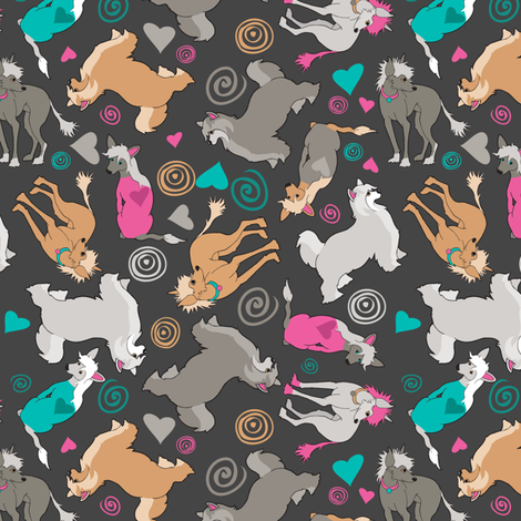 nekkid + puff / no plaid fabric by kclud39 on Spoonflower - custom fabric