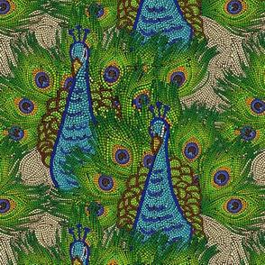 Peacock mosaic 2