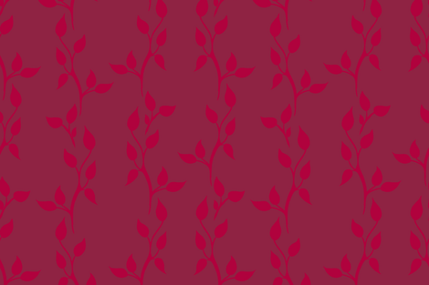 Twig Vine - 207 on 208 fabric by fernlesliestudio on Spoonflower - custom fabric