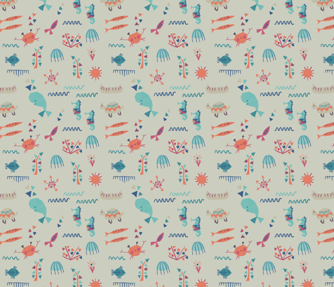 aquaticspirit fabric by nic_delamain_aitken on Spoonflower - custom fabric