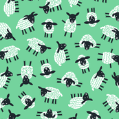 Little ditsy sheep mint
