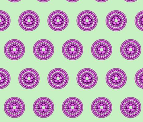Fractal Mandala 1 fabric by anneostroff on Spoonflower - custom fabric