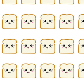 Kawaii Smiley Toast