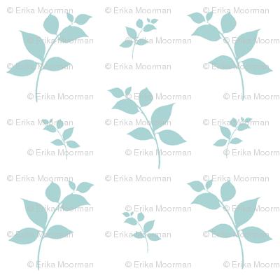 Leaves -mint mist 525