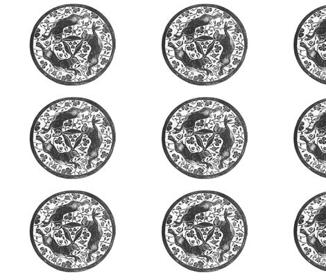 tinners_hares fabric by artist_chloe_birnie on Spoonflower - custom fabric